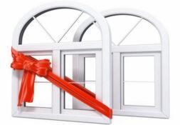 Пластиковые окна без установки, скидки до 17%